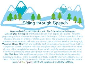Skiing Through Speech