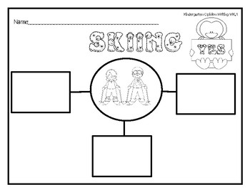 Skiing: What's Your Opinion? Kindergarten Opinion Writing