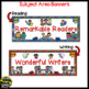 Skill Banners (Reading, Writing, Math, Science) ~ Super Hero Theme