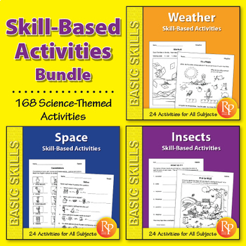 Skill-Based Activities for Grades 3-4 {Bundle}