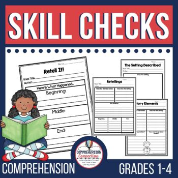 This Skill Based Comprehension Checks for Primary set helps teachers keep the focus of small group instruction on the meaning of the text. Intended for grades 1-3.