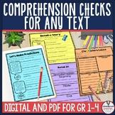 Skill Based Comprehension Checks for Primary
