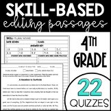 Skill-Based Editing Passages - Fourth Grade Editing Passages