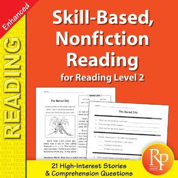 Skill-Based Reading Strategies w/Nonfiction Stories for Rdg. Level 2 - Enhanced
