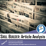 Skill Builder: Article Analysis