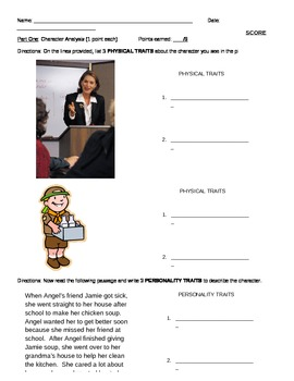 Skill Builder Reading Comprehension Packet