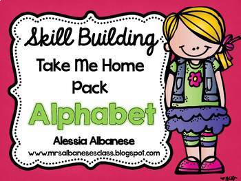 Skill Building Take Me Home Pack - Alphabet