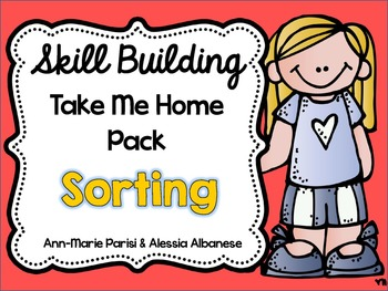 Skill Building Take Me Home Pack - Sorting
