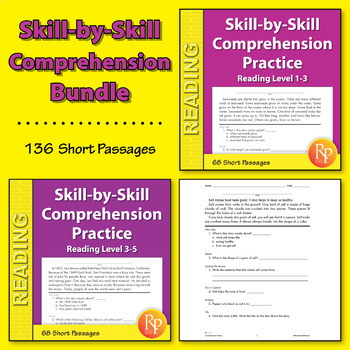 Skill-By-Skill Comprehension Practice {Bundle}