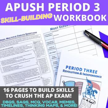 AP US History Skill Building Workbook Period 3