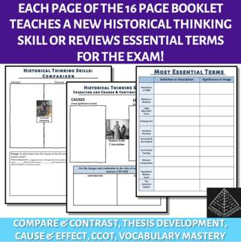 Skill Development Workbook for AP US History Period 4