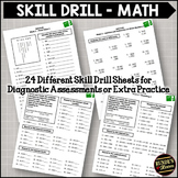 Skill Drill:  Reinforcing Mathematical Concepts