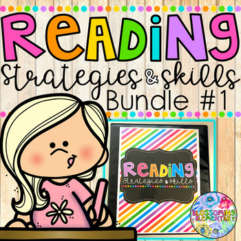 Reading Strategies and Skills {BUNDLE} by Sara Rucker