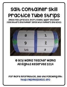 Skill Practice Tube Strips