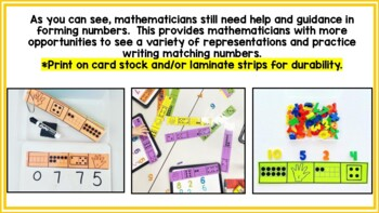 Skill Strips! Year Long Math Writing