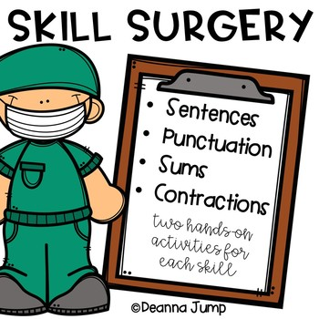 Skill Surgery: Math and Literacy Activities