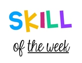 Skill of the Week