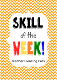 Skill of the Week, Teacher Pleasing Skill Domain
