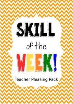 Skill of the Week, Teacher Pleasing Skill Domain