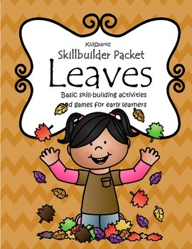 Leaves Basic Skills Practice Letters Numbers Shapes Hands-