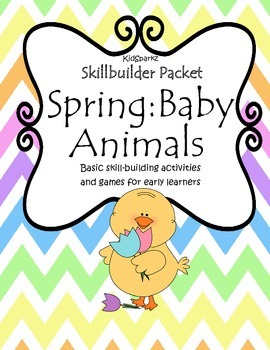 Baby Animals Basic Skills Practice Value Pack