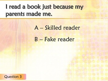 Skilled vs. Fake Readers Lesson and Practice using Responders by JennyG