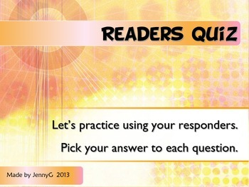 Skilled vs. Fake Readers Lesson and Practice using Respond