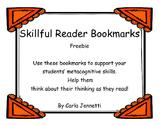 Skillful Reader Bookmark Freebie