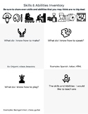Skills & Abilities Inventory (Could be used for Genius Hour)