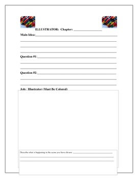 Skills Based Literature Circle Reader Response Journal (Fictional Close Reading)