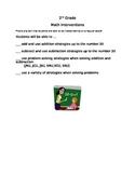 Skills Check List - 2nd Grade Math