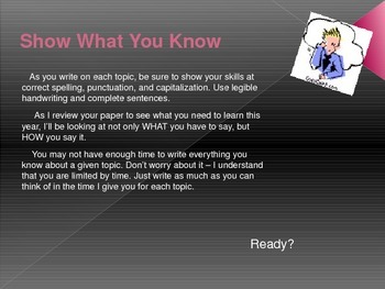 """Skills Inventory: """"Everything I Know About..."""""""