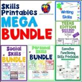 Skills Printables MEGA Bundle (Social, Personal, Language, Executive & more)