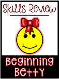 Skills Review: Beginning (Sounds) Betty
