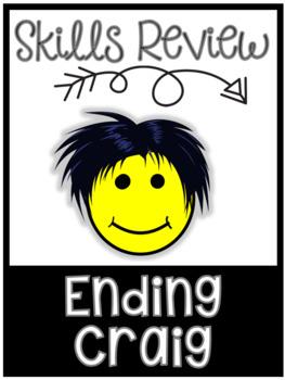 Skills Review: Ending (Sounds) Craig