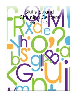 Skills Strand Unit 4 Grade 2 Chaining Center Activities