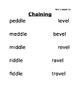 Skills Strand Unit 5 Grade 2 Chaining Center Activities