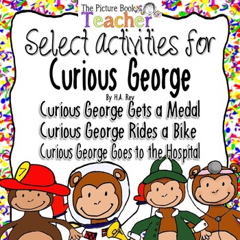 Skills & Strategies Activity Pack inspired by Curious Geor
