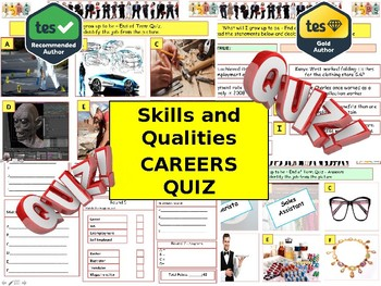 Skills and Qualities Quiz (Jobs & Jobs Quiz) - 7 rounds and 40+Qs