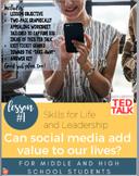Skills for Life & Leadership: Can Social Media Add Value t