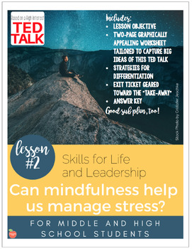 Skills for Life and Leadership: Can mindfulness help us manage stress?