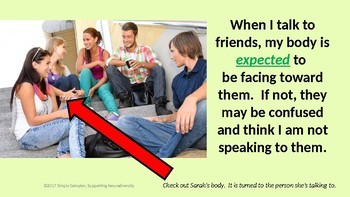 Skills for Starting a Conversation; Body Positioning, Starters and Saying a Name