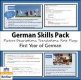 Skills pack beginners German - translation, picture descri