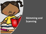 Skimming and Scanning- An Introduction