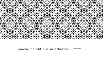 Skin Conditions in Athletes