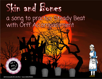 Skin and Bones - A Halloween Folk Song w/ Orff Instrument Accompaniment