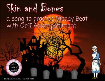 Skin and Bones - A Halloween Folk Song w/ Orff Instrument
