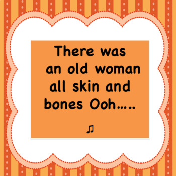 Skin and Bones - Fun October Song Sheet Music