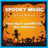 Halloween Music: accompaniment MP3 for Skin and Bones
