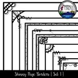 Skinny Borders 1 Clipart